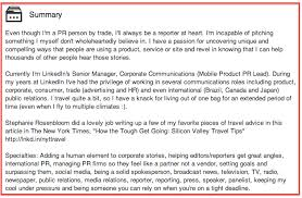 Interests To Put On Resume How To Write A Professional Social Media Bio You U0027ll Love