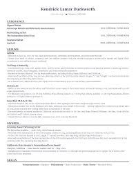 How To List Honors And Awards On Resume The Unofficial Resume Of Kendrick Lamar U2013 Rezi Blog