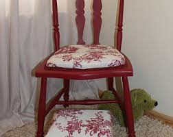 Shabby Chic Footstool by Chair And Footstool Etsy