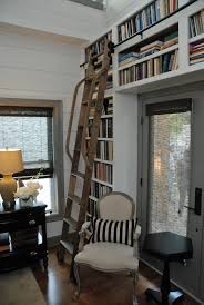 Bookcase With Ladder The Rolling Ladder Gallery