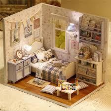 cuteroom diy wooden doll house room box handmade 3d miniature