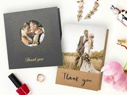 wedding thank you cards wedding thank you cards w photos from your big day personalized