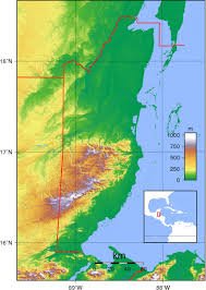 south america map belize belize detailed maps topography maps belize island maps