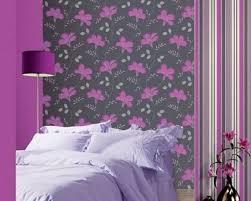 Wallpaper For Bedrooms Purple Room Wallpaper Wallpapersafari