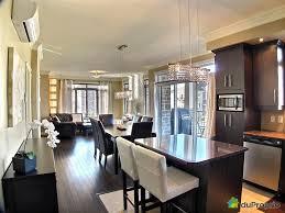 salon cuisine aire ouverte ag able decoration cuisine salon aire ouverte d coration clairage