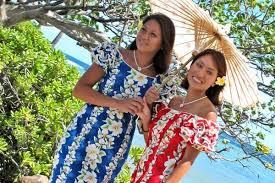 matching hawaiian shirts floral dresses beach wedding u0026 pali