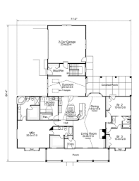 ranch home plan with sunroom 57229ha architectural designs