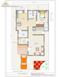2000 sq ft row house plan home act