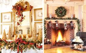 ornaments fireplace ideas mantel decorating images