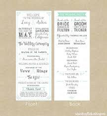 wedding programs free formidable invite programs free 73 free printable vintage rustic