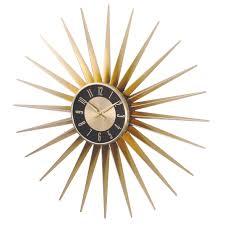 beautiful clocks beautiful decoration sunburst wall clock clocks large gold wall
