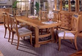 Oak Dining Room Set  How To Go Traditional Elegantly Dining - Oak dining room set
