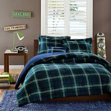 Green Plaid Duvet Cover Teen Bedding Bedding For Teens Teen Bedding Sets