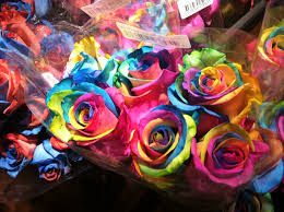 tie dye roses tie dye roses at wegmans golde these i they are not
