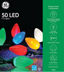 ge energy smart 100 count constant multicolor c6 led