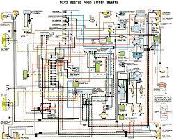 1972 beetle wiring diagram thegoldenbug com