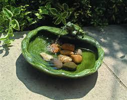 small garden fountains solar powered home outdoor decoration