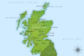 map of scotland and map of scotland by scotland channel