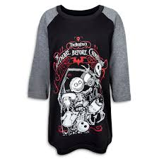 the nightmare before raglan t shirt for boys shopdisney