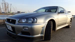 r34 nissan skyline gtr r34 v spec ii nur for sale in japan