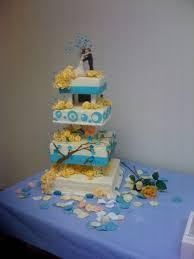 wedding cake no fondant teal and wedding cake cakecentral