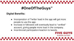 five guys digital marketing