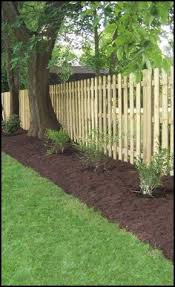 Fence Line Landscaping by Fence Landscaping Landscape Home Decor For Someday