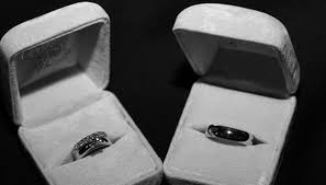 black wedding rings for what is the meaning of a black ring sciencing