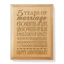 5th wedding anniversary gift ideas for wood anniversary gifts