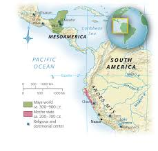 Map Of Mexico And Central America And South America by Mapas The Maya World Http College Cengage Com History Shared