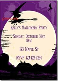 halloween witch invitations templates u2013 festival collections