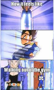 Dbz Gym Memes - 68 dragon ball z memes to help you through your day gallery