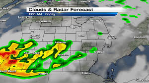Weather Map Radar Metro Detroit Weather Forecast Storms Moving Out Heat Is On