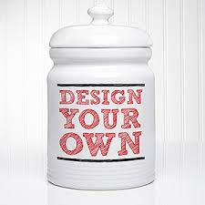 personalized cookie jars design your own personalized cookie jars