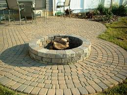 cinder block fire pit home fireplaces firepits best block
