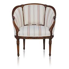 French Style Armchairs Uk Floral Decoration Mahogany Louis Xvi French Style Upholstered Armchair