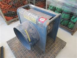blue wizard extractors blastmaster dust extraction fan auction