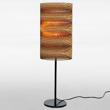 Cardboard Pendant Light Round Table On Behance