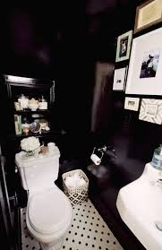 Best White Paint For Dark Rooms Best 25 Black Powder Room Ideas On Pinterest Black Bathroom