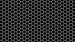 wallpaper beehive honeycomb black white hexagon 000000 f8f8ff