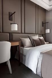 chambre a coucher taupe quelle décoration pour la chambre à coucher moderne archzine fr