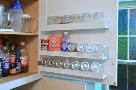 Diy Kitchen Cabinet Doors Diy Inside Cabinet Door Storage Shelves Hometalk