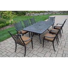 Discount Cast Aluminum Patio Furniture by Cast Aluminum Patio Dining Sets Patio Dining Furniture The