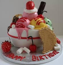 creative cakes icecream birthday cake pauls creative cakes flickr