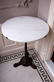 Marble Bistro Table And Chairs Bistrotafel Marmer Of Zwarthoutenblad Project At97