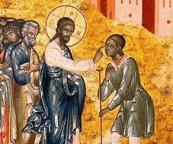 Bartholomew The Blind Man Saint John Chrysostom The Sunday Of The Blind Man Pemptousia