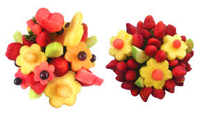 fruit flower arrangements food bouquets sydney food