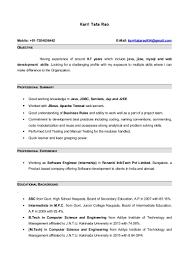 Sample Resume For Manual Testing by Manual Testing Sample Resumes Resume Peppapp