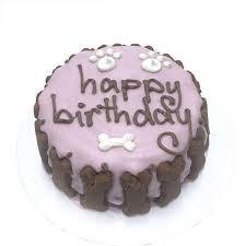 dog birthday cake bubba pink standard dog birthday cake at dogtuff