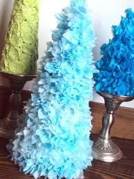 spunky junky tutorial tuesday tissue paper christmas trees